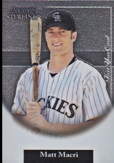 2004 Bowman Sterling #MMC Matt Macri FY RC