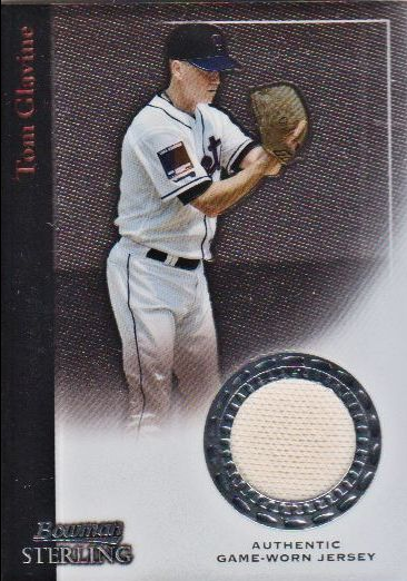 2004 Bowman Sterling #TMG Tom Glavine Jsy