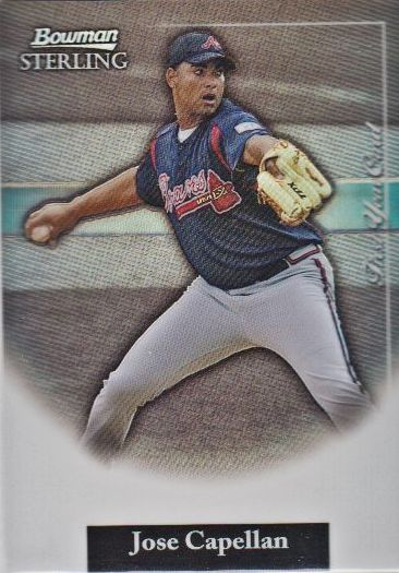 2004 Bowman Sterling Refractors #JC Jose Capellan FY