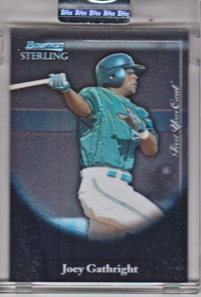 2004 Bowman Sterling Black Refractors #JG Joey Gathright FY