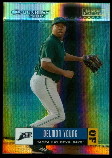 2005 Donruss Stat Line Season #348 Delmon Young/25