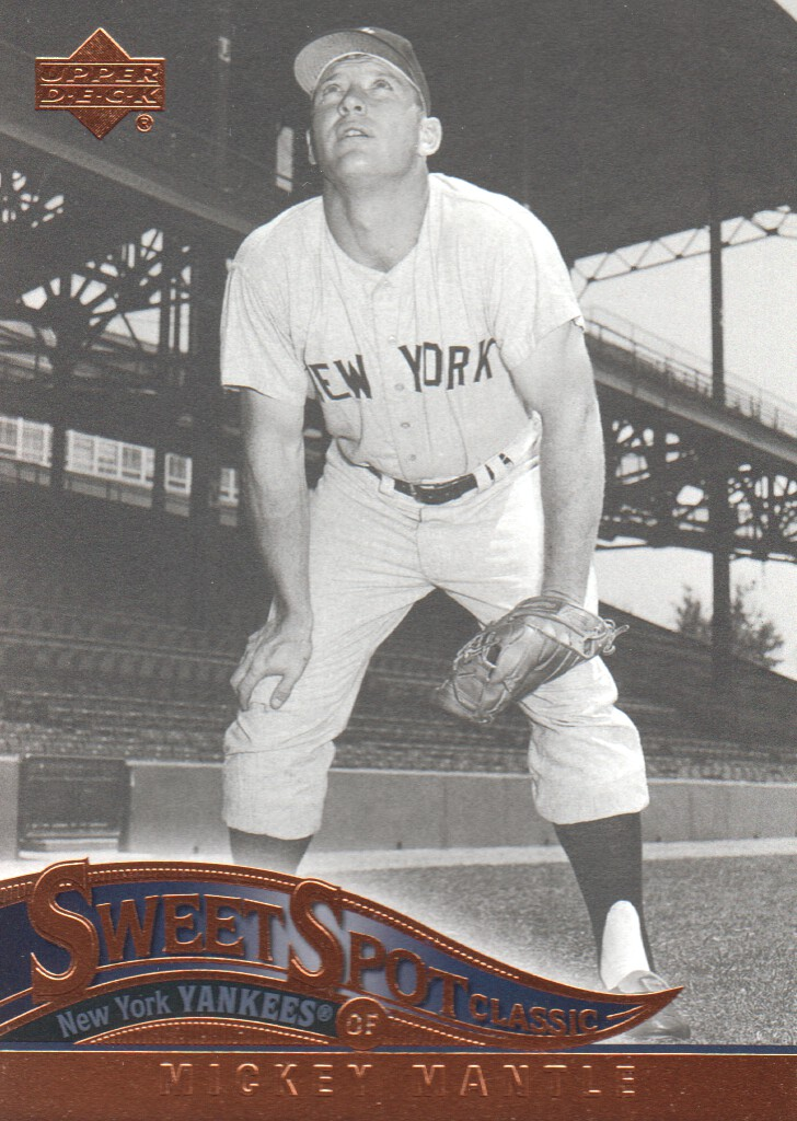 2005 Sweet Spot Classic #61 Mickey Mantle