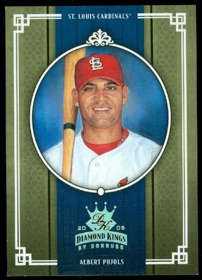 2005 Diamond Kings Gold #214 Albert Pujols