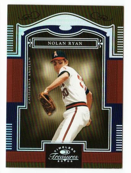 2005 Timeless Treasures Silver #63 Nolan Ryan
