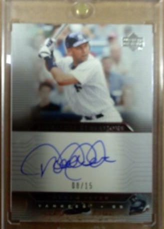 2005 Upper Deck Signature Sensations #DJ Derek Jeter