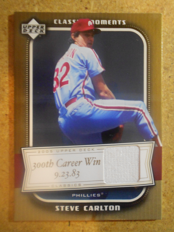 2005 Upper Deck Classics Moments Materials #SC Steve Carlton Pants