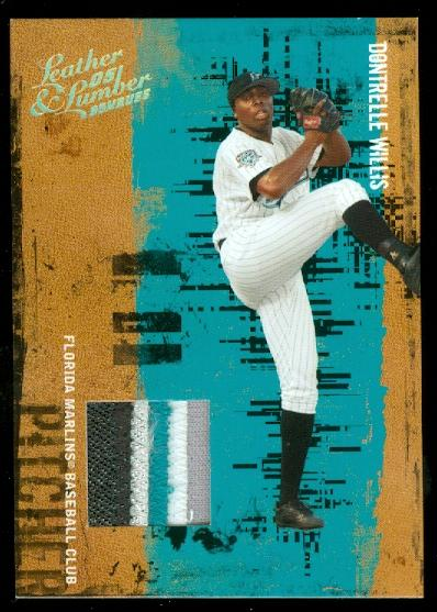 2005 Leather and Lumber Materials Jersey Prime #40 Dontrelle Willis/25