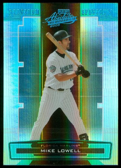2005 Absolute Memorabilia Spectrum Platinum #65 Mike Lowell