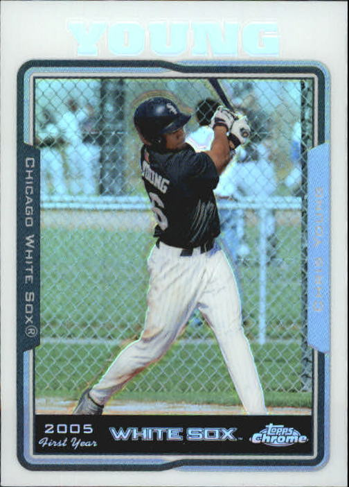 2005 Topps Chrome Update Refractors #189 Chris B. Young FY