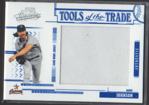 2005 Absolute Memorabilia Tools of the Trade Swatch Single Jumbo #166 R.John Astros Pants/250