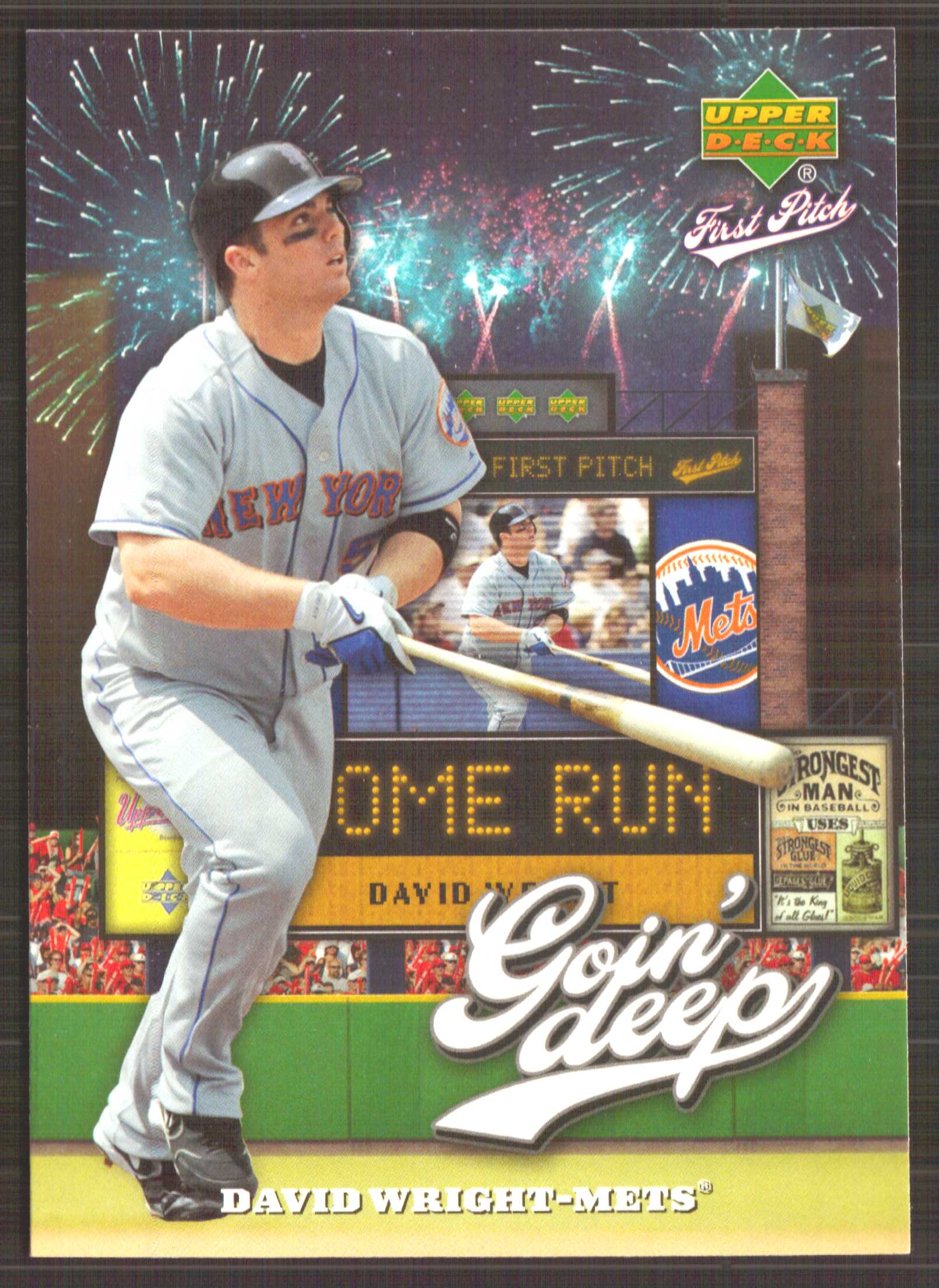 2006 Upper Deck First Pitch Goin Deep #GD13 David Wright