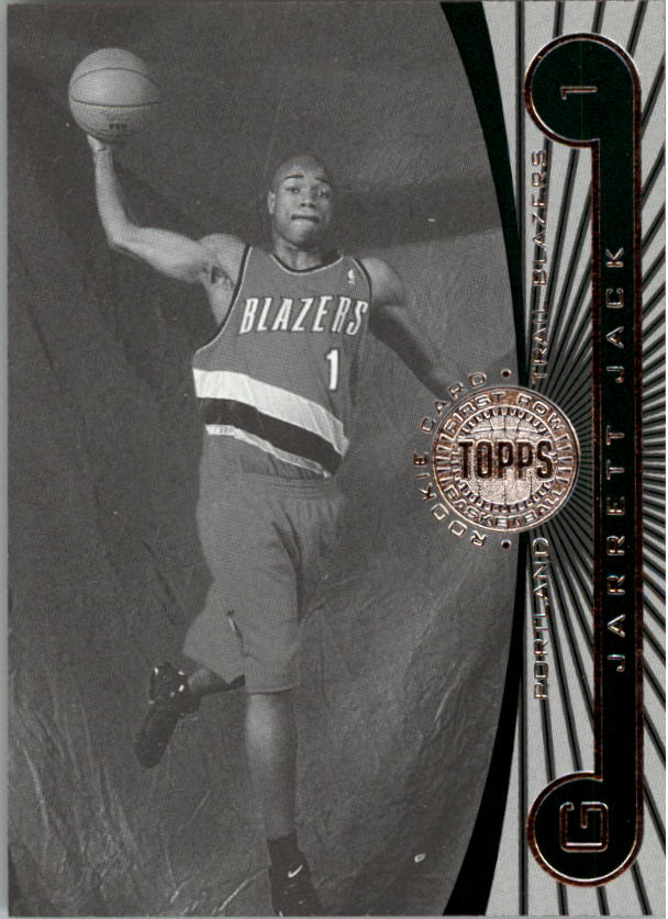 2005-06 Topps First Row Black and White #105 Jarrett Jack