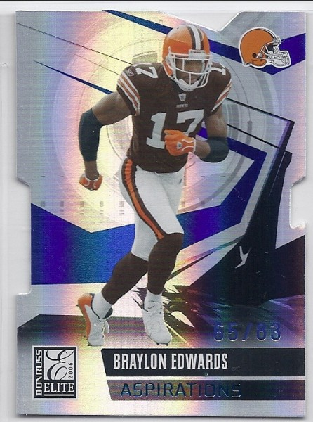 2006 Donruss Elite Aspirations #23 Braylon Edwards/83