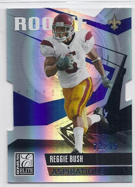 2006 Donruss Elite Aspirations #204 Reggie Bush/95