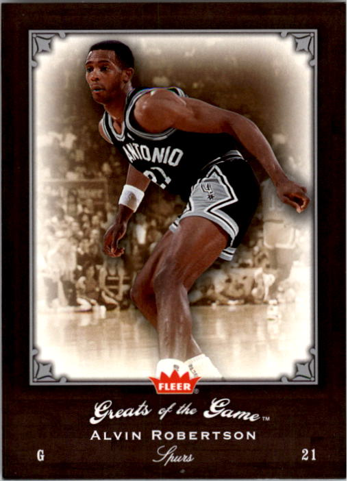 2005-06 Greats of the Game #48 Alvin Robertson