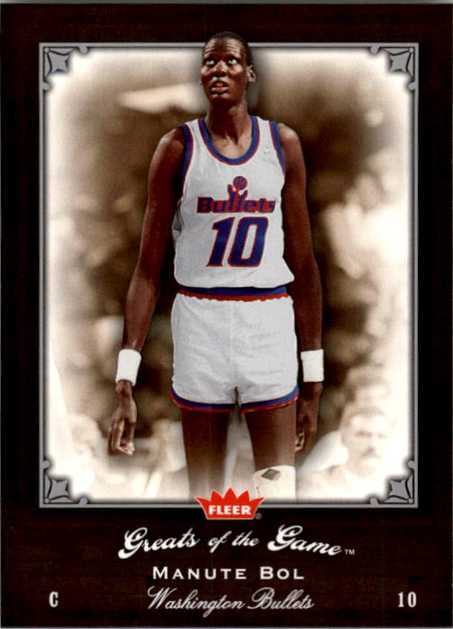 2005-06 Greats of the Game #55 Manute Bol