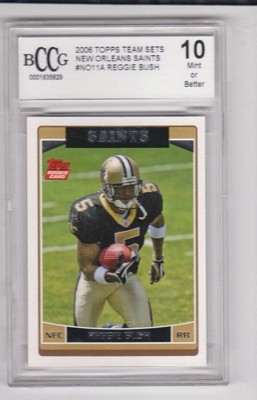 2006 Saints Topps #NO11A Reggie Bush 5/(wearing jersey #5)