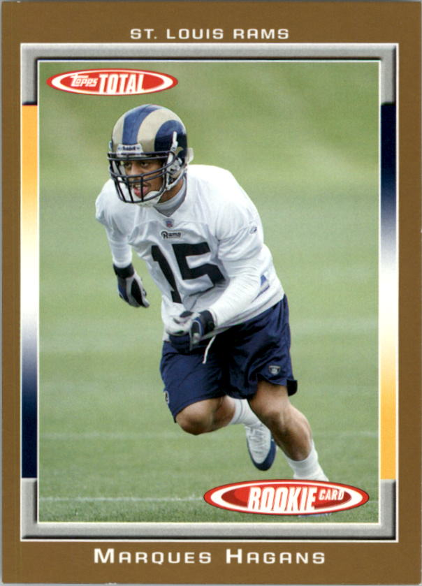 2006 Topps Total Gold #511 Marques Hagans