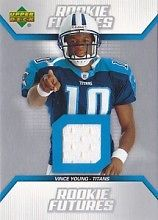 2006 Upper Deck Rookie Futures Jerseys  #RFVY Vince Young