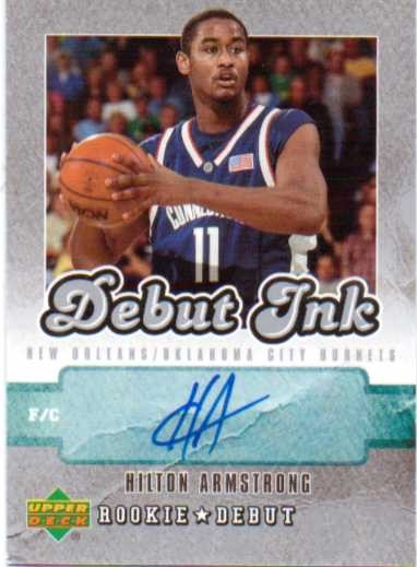 2006-07 Upper Deck Rookie Debut Ink #HA Hilton Armstrong