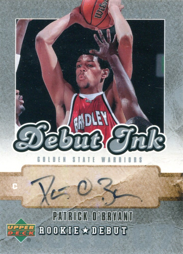 2006-07 Upper Deck Rookie Debut Ink #PO Patrick O'Bryant