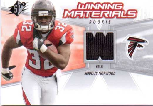 2006 SPx Rookie Winning Materials #WMRJN Jerious Norwood