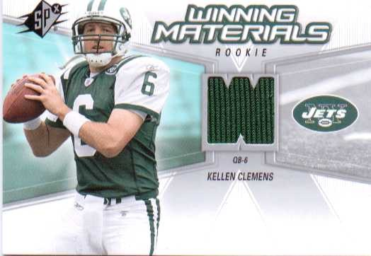 2006 SPx Rookie Winning Materials #WMRKC Kellen Clemens