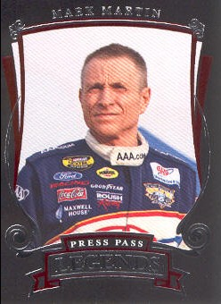 2006 Press Pass Legends #30 Mark Martin