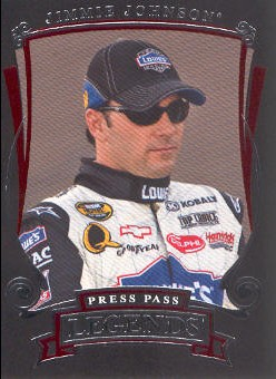 2006 Press Pass Legends #41 Jimmie Johnson