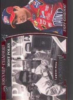 2006 Press Pass Legends #46 R.Petty/J.Gordon REC Poles