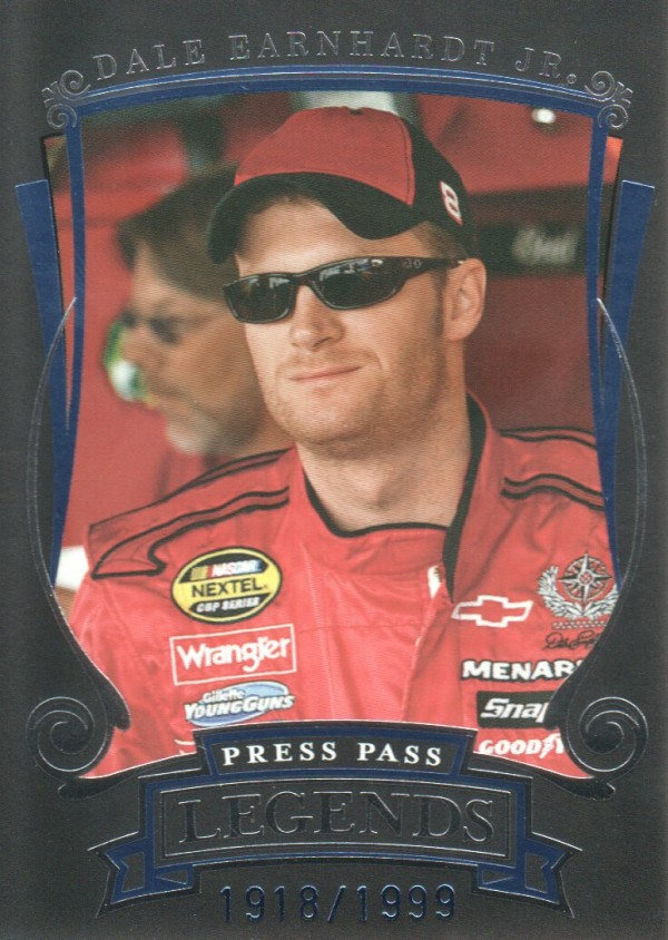 2006 Press Pass Legends Blue #B37 Dale Earnhardt Jr.