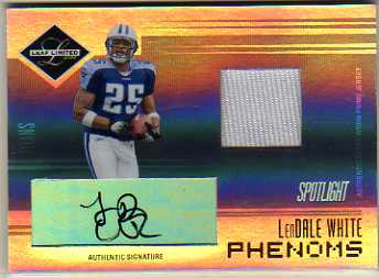 2006 Leaf Limited Silver Spotlight #266 LenDale White JSY AU