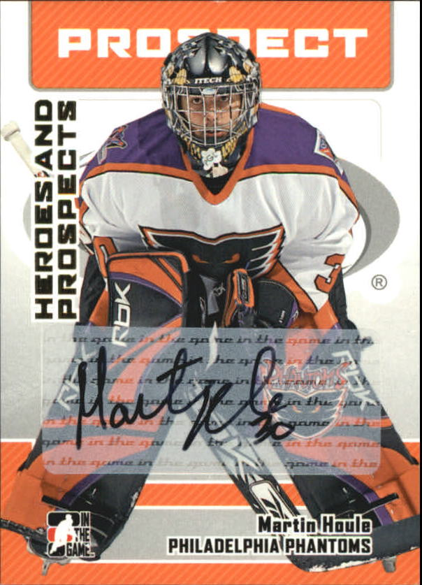 2006-07 ITG Heroes and Prospects Autographs #AMH Martin Houle