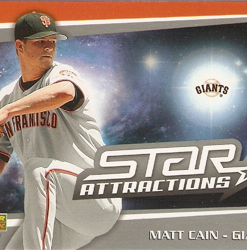 2006 Upper Deck Star Attractions #MC Matt Cain UPD