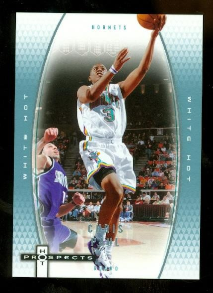 2006-07 Fleer Hot Prospects White Hot #38 Chris Paul