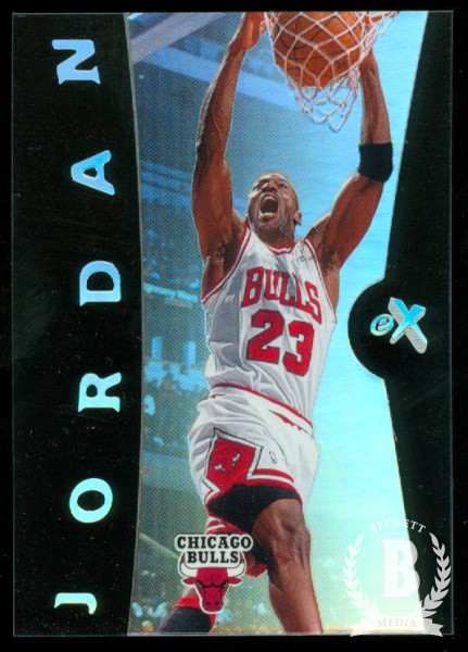 2006-07 E-X #4 Michael Jordan