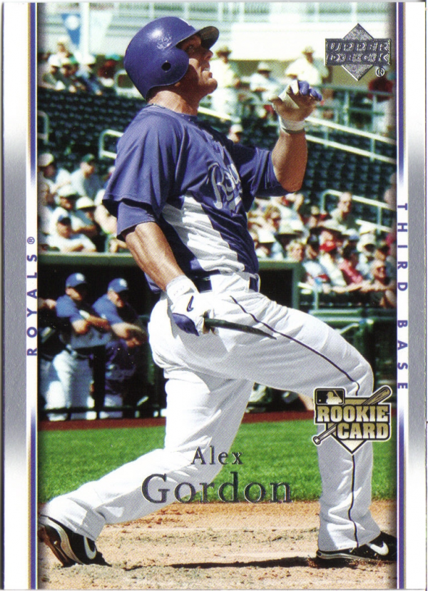 2007 Upper Deck #504 Alex Gordon RC