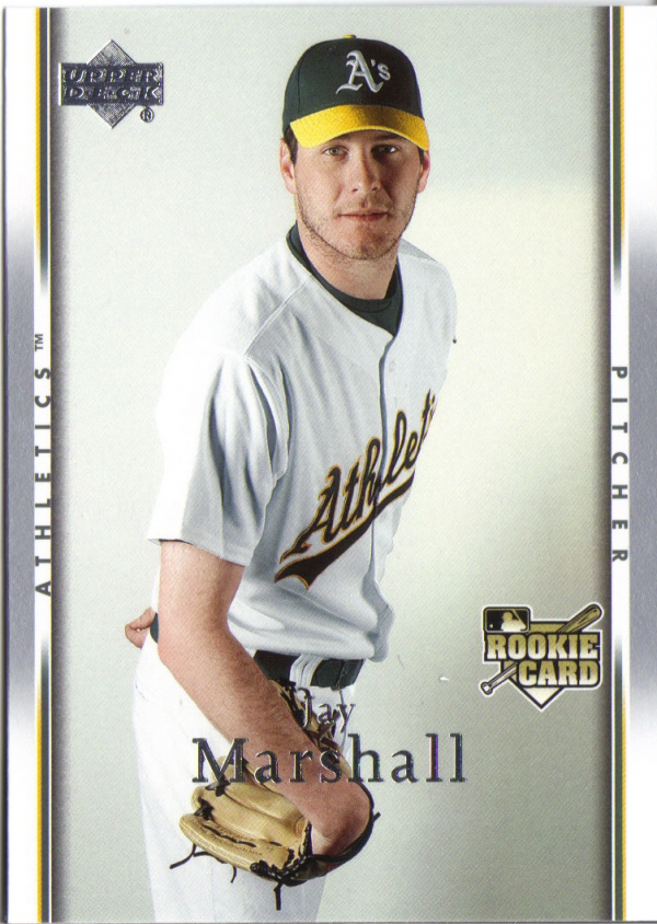 2007 Upper Deck #510 Jay Marshall RC
