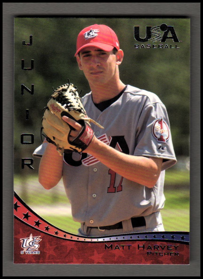 2006-07 USA Baseball #45 Matt Harvey