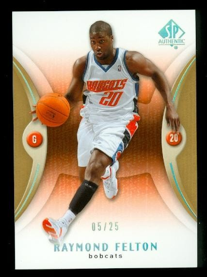 2006-07 SP Authentic Gold #8 Raymond Felton