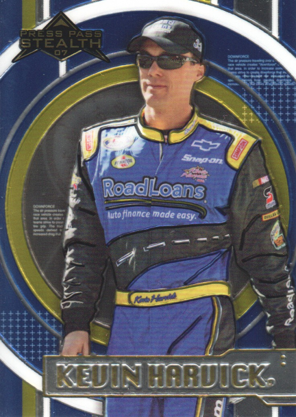 2007 Press Pass Stealth Chrome #40 Kevin Harvick NBS
