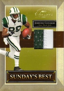 2007 Donruss Classics Sunday's Best Jerseys Prime #32 Jerricho Cotchery