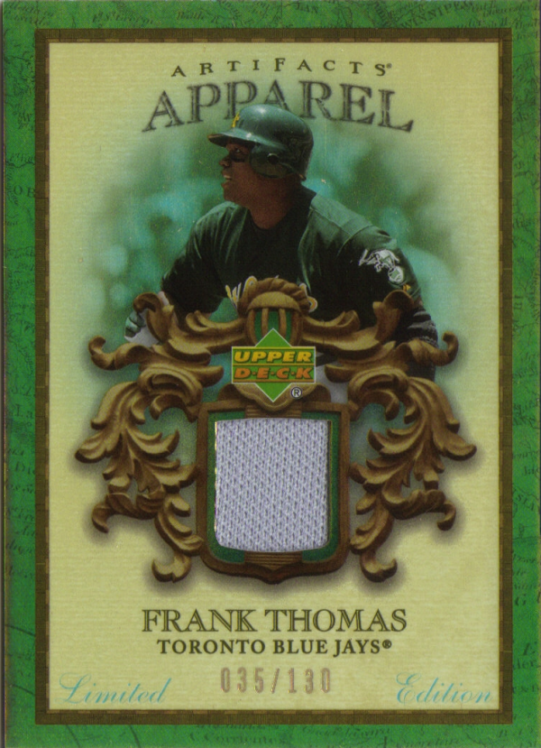 2007 Artifacts MLB Apparel Limited #FT Frank Thomas