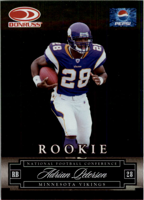 2007 Donruss Pepsi National Convention #3 Adrian Peterson