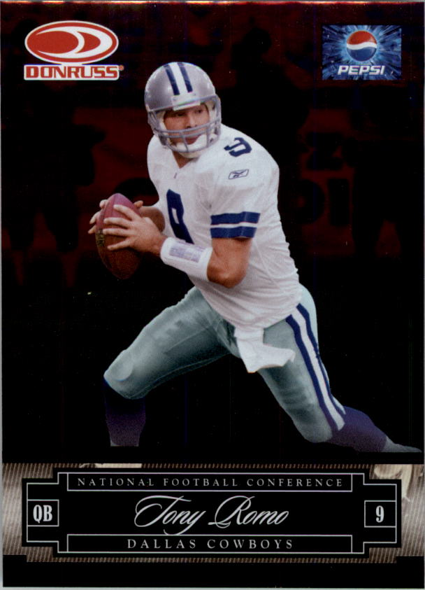 2007 Donruss Pepsi National Convention #5 Tony Romo