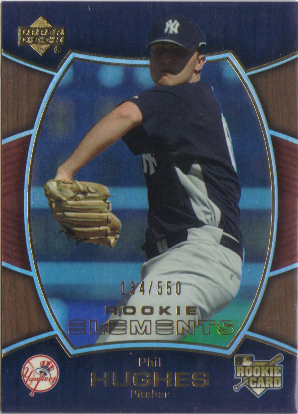 2007 Upper Deck Elements #155 Phil Hughes (RC)