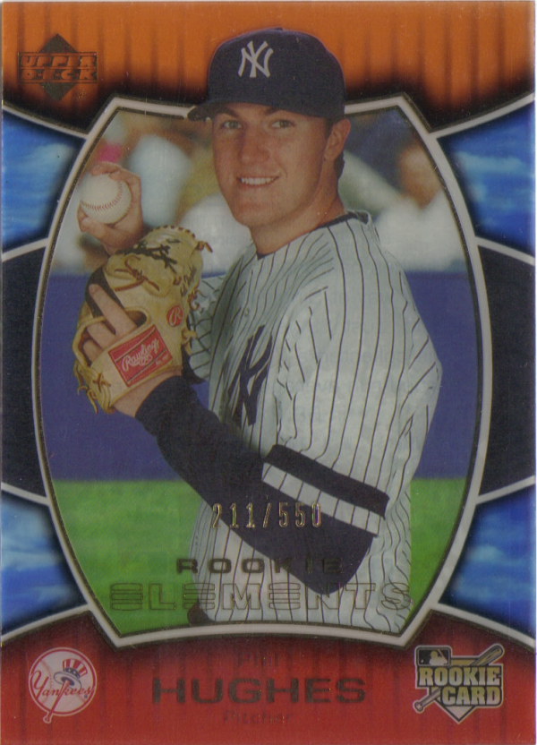 2007 Upper Deck Elements #239 Phil Hughes (RC)