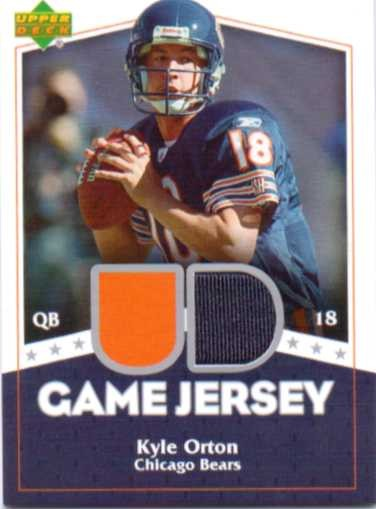 2007 Upper Deck Game Jerseys #KO Kyle Orton
