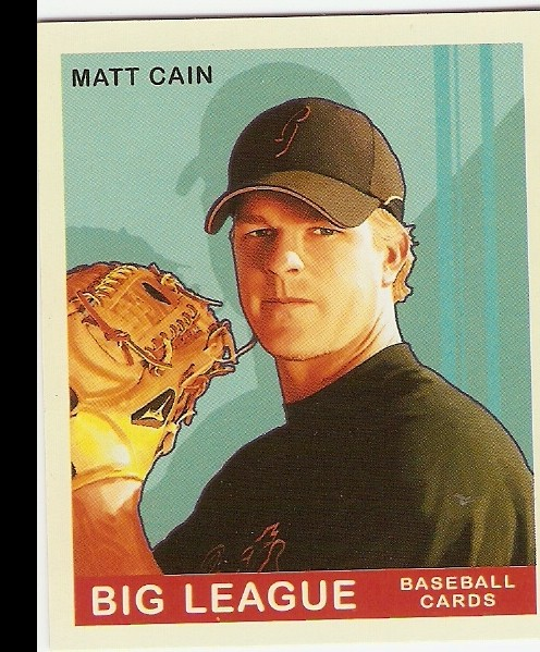 2007 Upper Deck Goudey Red Backs #130 Matt Cain