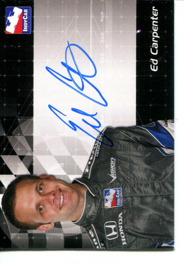 2007 Rittenhouse IRL Autographs #2 Ed Carpenter